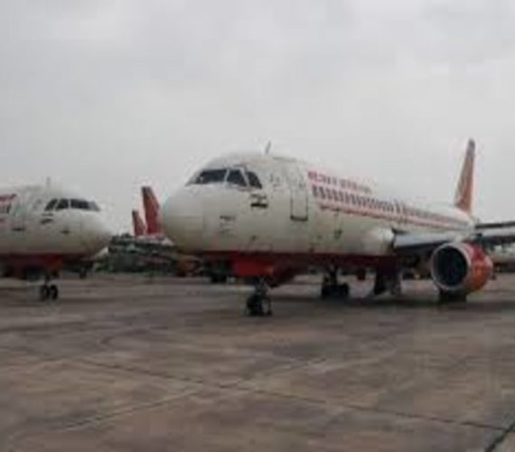 Air hostess falls out of Indian Plane,suffers injuries