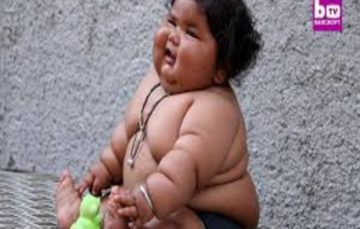 This 8-month-old baby from Punjab battling obesity has left the doctors perplexed