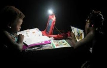 Solar Backpacks are poor Ivory Coast pupils' ray of hope