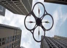 Drone to estimate damage caused to public property in accidents