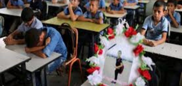 Classmates mourn 12-year-old Palestinian boy killed by Israeli troops
