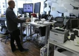 Will standing desks boost work performance?