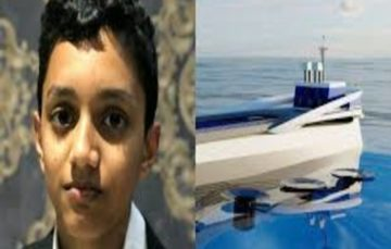 Meet Haaziq Kazi,12-year-old who designed a ship that can clean and save our oceans