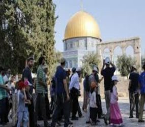 Israeli Knesset member storms Al-Aqsa compound