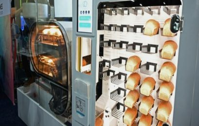 Time to bid bakers farewell? New robot makes 235 loaves of bread a day