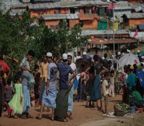 Rohingya long for an end to their suffering