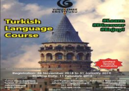 Learn the Turkish language at the Yunus Emre Enstitüsü