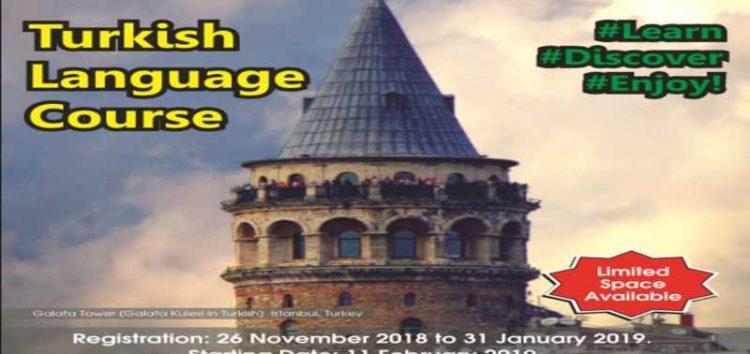 Learn the Turkish language at the Yunus Emre Enstitüsü