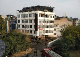 Fire at New Delhi hotel claims nine lives
