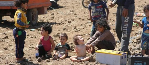 UN urges full rights for Syria's displaced children