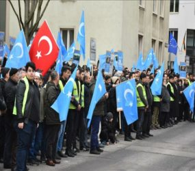 Protesters in Australia voice solidarity with Uighur Muslims