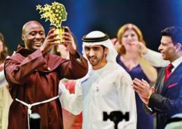 Kenyan teacher who gave earnings to poor won the $1 million Global Teacher Prize in Dubai