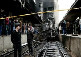 Egypt arrests six over Cairo train crash that killed 25