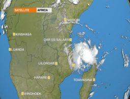 Powerful cyclone is barrelling towards northern Mozambique