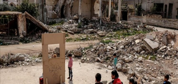 Assad regime attacked Idlib 6,422 times in March