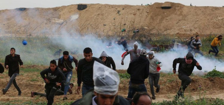 Israel introduces new crowd dispersal weapon against Palestinians
