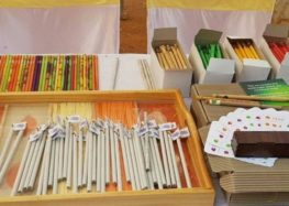 The school where students use pencils that turn into plants once used & discarded