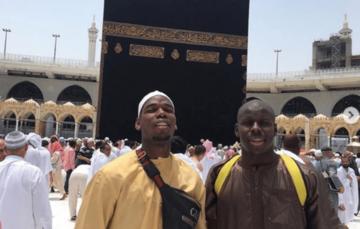 Manchester United's Pogba goes on Umrah