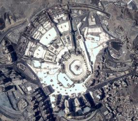 UAE satellite snaps photo of Makkah from space