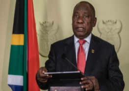 President Ramaphosa announces new cabinet