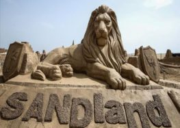 Turkish beach unveils 200 sand sculptures