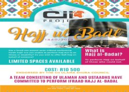 Cii Projects Hajj Badal 1440