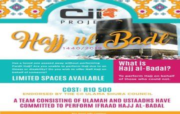 Cii Projects Hajj Badal 1440