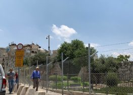 Israel builds fence, begins digging at Jerusalem's Damascus Gate