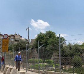 Israel builds fence, begins digging at Jerusalem's Damascus Gate