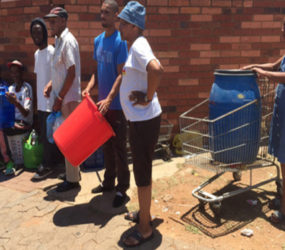 Gauteng residents urged to stock up water before Monday
