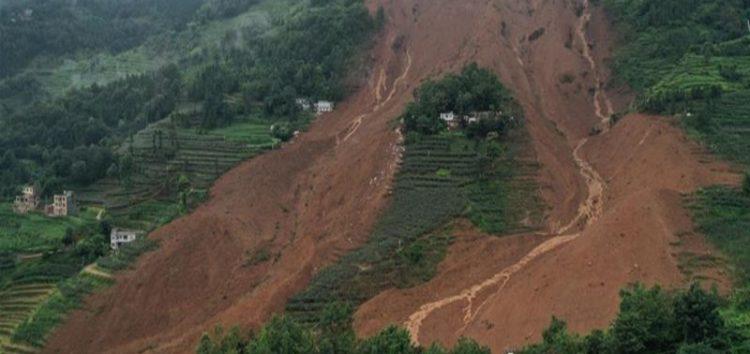 Deadly landslides hit China's southwest, 30 missing