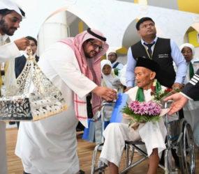 130-year-old Indonesian arrives in Saudi Arabia for Hajj