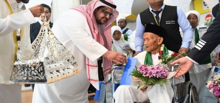 130-year-old Indonesian arrives in Saudi Arabia for Hajj