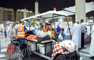 Saudi Red Crescent implements program to serve Hujjaj