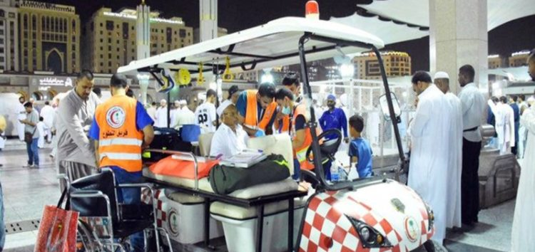 Saudi Red Crescent implements program to serve Hujjaj