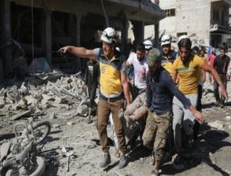 Air raid on busy market in northwest Syria kills several
