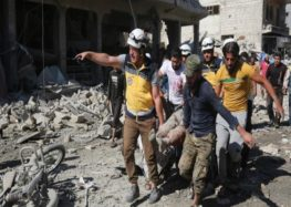 Air raid on busy market in northwest Syria kills several