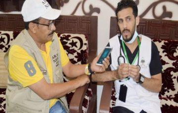 Doctors on unpaid mission proud to serve Hujjaj