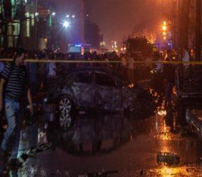 19 killed as Egypt car crash sets off deadly explosion outside Cairo hospital