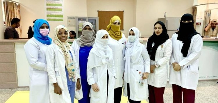 Serving hujjaj is an honour, say Saudi female nurses
