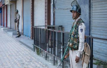 Besieged by Indian troops, Kashmir mourns loss of autonomy