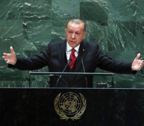 Erdogan slams US' 'deal of the century' plan