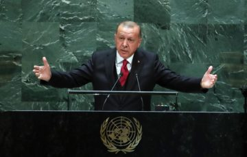 Erdogan slams US' 'deal of the century' plan