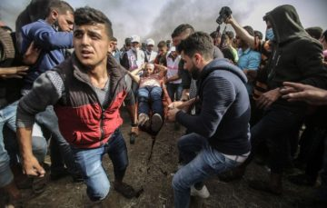 Senior UN rights official slams Israel's use of live fire against Gaza protesters