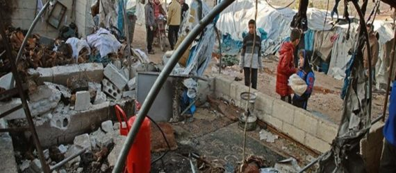 Syria: Idlib IDP camp hit by deadly missile attack