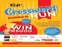 Crossword run 2020 #Durban