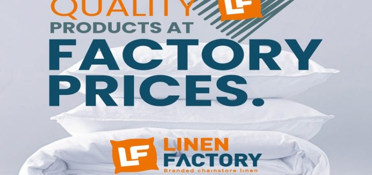 Linen Factory – Where everything is always on sale