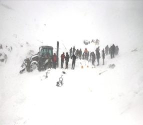 Turkey: Avalanche buries search team, 23 killed