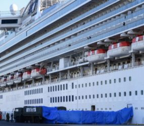2 South african crew members of cruise ship in Japan test positive for coronavirus