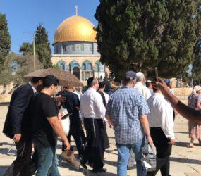 Jewish settlers raid Al-Aqsa Mosque despite coronavirus restrictions